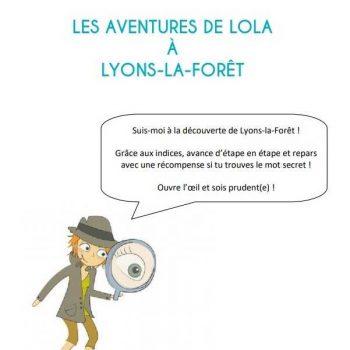 Livret du jeu parcours-découverte de Lyons-la-Forêt pour enfants