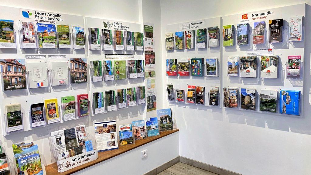Documentation touristique de l'office de tourisme Lyons Andelle