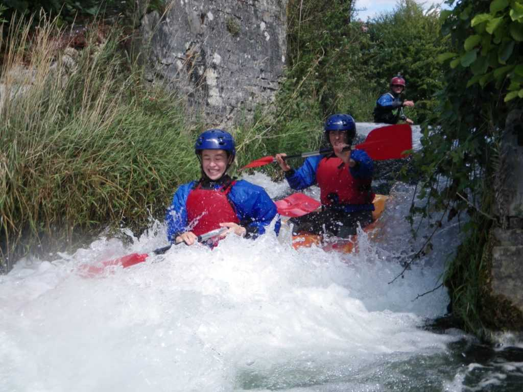 Sortie kayak sur l Andelle © Authentik Aventure